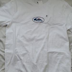 Quicksilver Sacred Surf Rituals White Crew Shirt